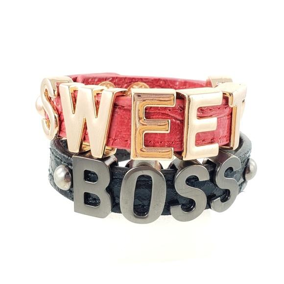 BCBGeneration Jewelry - BCBGeneration Sweet Boss 2 Cuff Snap Bracelets